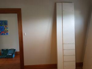 Custom wardrobe systems installation